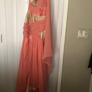 Pretty Pink Goddess Dress